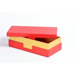 Подарочная коробка крышка-дно со вставкой