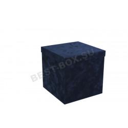 Куб 160 (синий бархат)