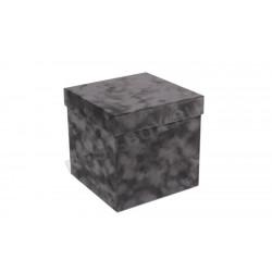 Куб 195 (серый бархат)
